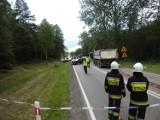 Wypadek na krajowej ósemce koło Kłodzka. Pięć osób rannych, droga zablokowana