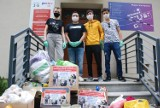 Finał akcji jarosławskich studentów na rzecz Schroniska dla Bezdomnych Zwierząt z Orzechowiec koło Przemyśla [ZDJĘCIA]
