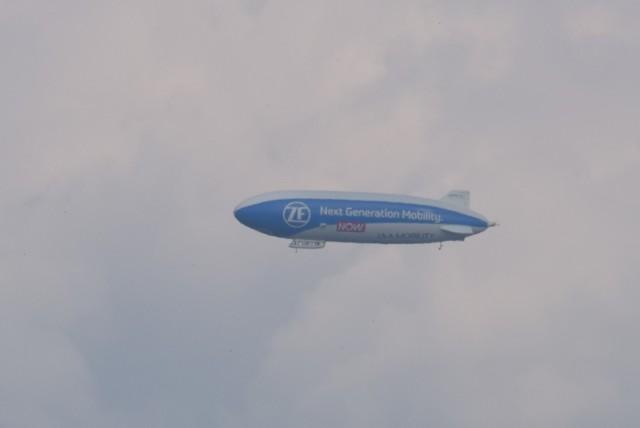 Zeppelin NT nad Opolszczyzną.