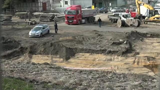Materiały wybuchowe znaleziono na budowie galerii handlowej Stary Dworzec