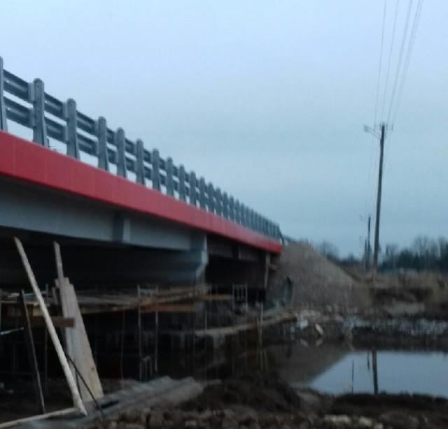 Wyremotnowany most w Rudzie w gm. Gidle