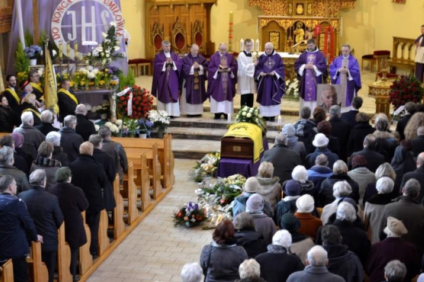 Pogrzeb prof. Jerzego Tredera w kościele św. Leona w...