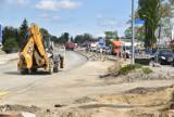 Tarnów. Duże zmiany na Lwowskiej. W piątek nastąpi przełożenie ruchu na nowo wybudowaną jezdnię [ZDJĘCIA]