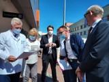 Poseł Lewicy Robert Kwiatkowski: - Jesteśmy zdeterminowani, aby doprowadzić do oddłużenia szpitala w Grudziądzu