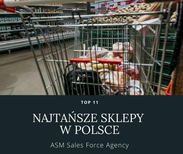 Najtańsze i najdroższe sklepy w Polsce 2021. Który sklep jest najtańszy? Gdzie za za koszyk najpopularniejszych produktów zapłacimy najwięcej?   Sprawdź TOP 11 sklepów z cenami za koszyk produktów na kolejnych slajdach >>>