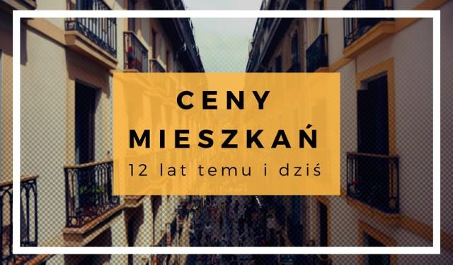 Ceny mieszkań przyprawiają dziś o zawrót głowy. Mieszkania na sprzedaż drożeją bez przerwy praktycznie we wszystkich miastach kraju. Nie zawsze jednak na rynku nieruchomości było aż tak drogo – 12 lat temu sytuacja wyglądała zupełnie inaczej.  Ile w 2006 roku kosztowało przeciętne mieszkanie w Warszawie, Krakowie, Poznaniu, Lublinie czy Katowicach? Gdzie ceny wzrosły najbardziej, a gdzie najmniej? Kliknij w galerię i zobacz porównanie cen.  W zestawieniu brak Twojego miasta? Więcej cen mieszkań znajdziesz w artykule: Ceny mieszkań w Polsce. Jak się zmieniły przez 12 lat?