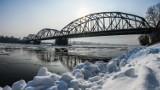 Bydgoszcz. Most w Fordonie i Wisła w zimowej scenerii [zdjęcia]