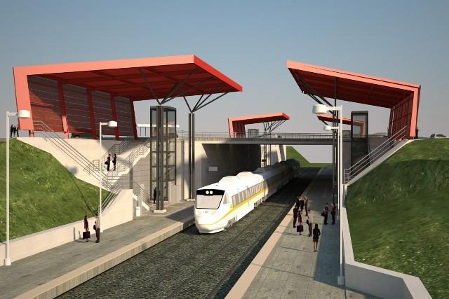 """Przystanek """"Matarnia"""" położony będzie w 9-metrowym zagłębieniu"""