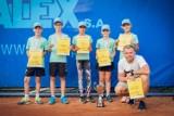 Zielonogórskie tenisowe talenty z sukcesami na kortach w Poznaniu