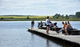 Mieszkańcy Chełma i okolic wypoczywali nad zalewem Żółtańce. Byli też amatorzy kąpieli w zalewie. Zobacz zdjęcia