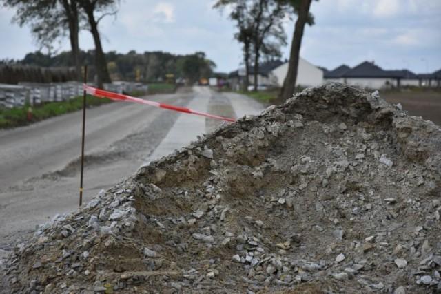 Mieszkańcy Zbrudzewa mają uwagi do budowy ulicy Ametystowej