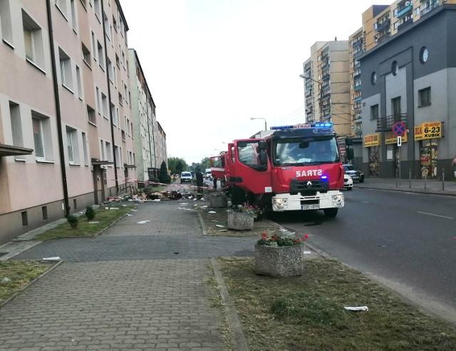Płonęło mieszkanie przy ul. Szpitalnej w Czeladzi