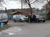 Potrącenie na ulicy Darłowskiej w Ustce. Kobieta trafiła do szpitala