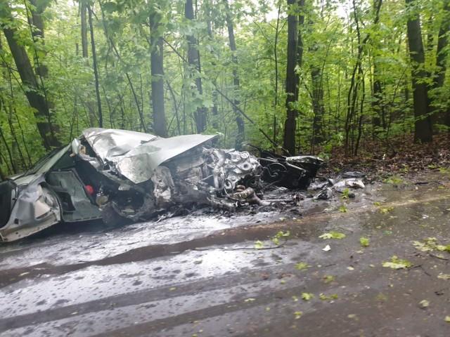 Wypadek w Bytomiu