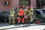 Wypadek na ulicy Lotniczej w Legnicy, dwie osoby ranne