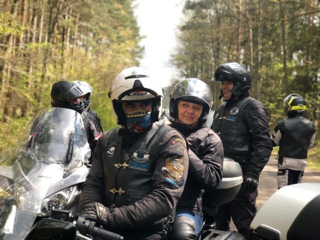 """Moto """"Sztormowcy""""  Stormriders na wiosnę 2020 nie siedzą w domach i garażach"""
