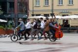 """Orkiestra Na Dużym Rowerze (Big Bike Orchestra) z Bydgoszczy wystąpi w """"Mam talent"""""""