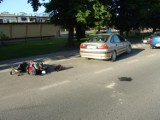 Izbica Kujawska: Wypadek z udziałem motocyklisty [ZDJĘCIA]