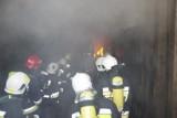 Ćwiczenia strażaków Ochotniczych Straży Pożarnych z gminy Trąbki Wielkie w Mierzeszynie [ZDJĘCIA]