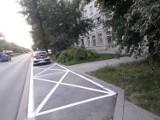 Kraków. Na osiedlu Centrum C Straż Miejska zagarnia kolejne miejsca parkingowe kosztem mieszkańców. Ci nie kryją oburzenia