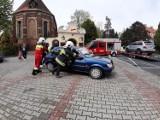 Niezły dzwon w Dolsku. Jedna osoba trafiła do szpitala