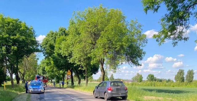 Śmiertelny wypadek w powiecie rawskim wydarzył się w Matyldowie