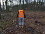 Saperzy musieli interweniować w lasach pod Oleśnicą