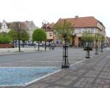 Opustoszałe ulice Pleszewa. Majówka w ubiegłym roku była wyjątkowa. Tak w maju  2020 wyglądały ulice naszego miasta