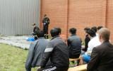 Nadodrzański Oddział Straży Granicznej w Krośnie Odrzańskim. Pełne obłożenie ośrodka dla imigrantów. Większość cudzoziemców to Afgańczycy