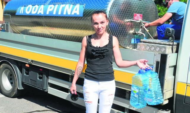 Magdalena Barczyk o skażonej wodzie dowiedziała się dopiero wczoraj. Kobieta uważa to za skandal