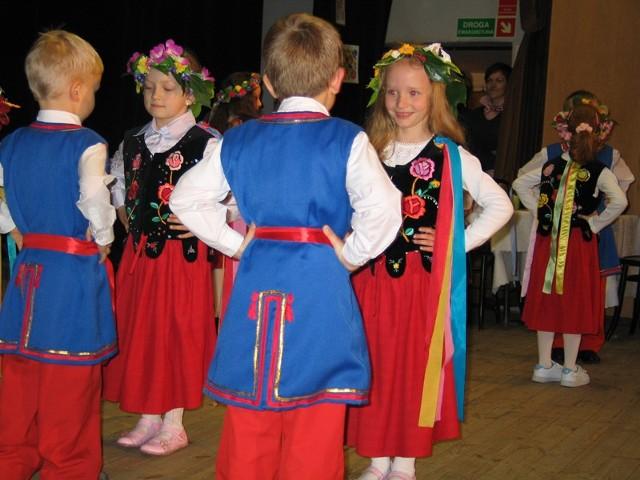 Z przytupem tańczyły nasze przedszkolaki