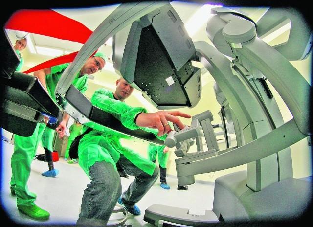 Robot kosztował 8,5 mln zł. Dał je Fundusz Nauki i Technologii