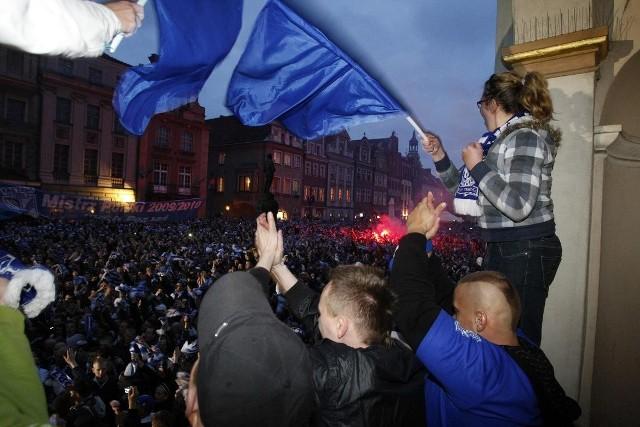 Jednym z ważniejszych wydarzeń minionej dekady było Mistrzostwo Polski 2010 dla Lecha Poznań