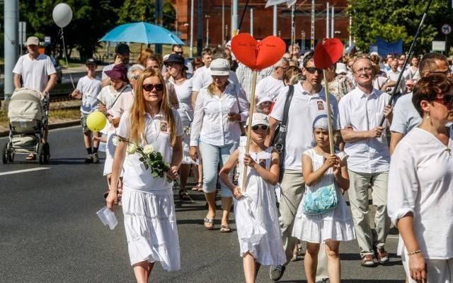 10.06.2018 Gdańsk. Marsz dla  Życia i Rodziny.