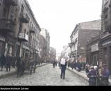 Zdjęcia Sosnowca sprzed blisko 100 lat w kolorze! Tak wygląd przed wojną - ludzie, budynki... Pokolorowaliśmy te fotografie!