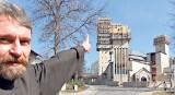 Kościół świętych Franciszka i Klary w Tychach będzie z wieżą w kształcie płomienia