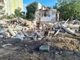 Tak wygląda teren po wybuchu przy ul. Wybickiego w Toruniu. Zobacz zdjęcia!