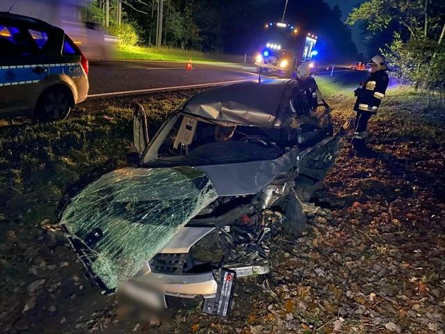 Do wypadku na trasie Bydgoszcz-Solec Kujawski doszło w czwartkowy, 5 listopada, poranek
