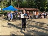 """Harcerze zorganizowali rajd pieszy """"tropami przyrody"""". Wzięło w nim udział kilkudziesięciu uczestników"""