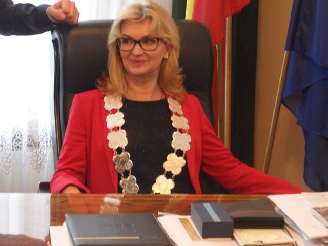Gabriela Kaźmierczak na jeden dzień została  prezydentem Świętochłowic