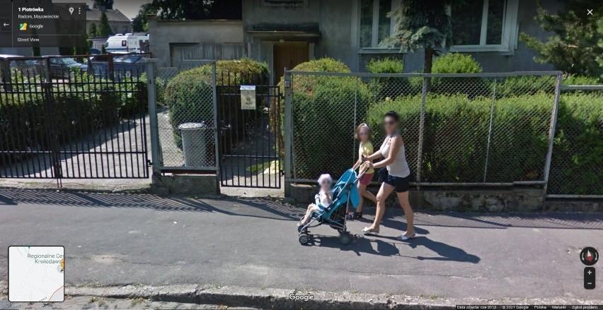 Radomskie Stare miasto w obiektywie Google Street View: Co...
