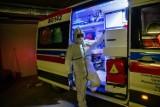 Uciekł ze szpitala podczas oczekiwania na wynik badania COVID-19