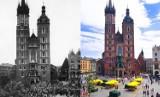 Najsłynniejsze miejsca w Krakowie [KIEDYŚ I DZIŚ]