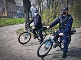 Łomża. Po zimowej przerwie policja wraca na rowery