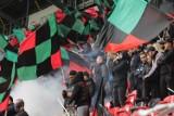 Policja poszukuje kiboli łamiących prawo! Zadyma na meczu GKS Tychy - Widzew Łódź