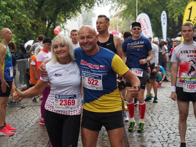 XVIII Bieg Ulicą Piotrkowską Rossmann Run.