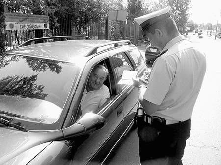 Mandatów policjanci ze Świętochłowic wystawili niewiele. Foto; MAGDALENA CHAŁUPKA