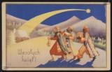 Niezwykłe przedwojenne kartki świąteczne, zapomniana tradycja naszych dziadków [GALERIA]
