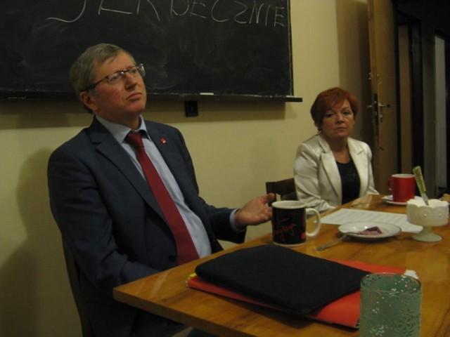 Zbyszek Zaborowski kandydat na szefa SLD gościł w Rybniku