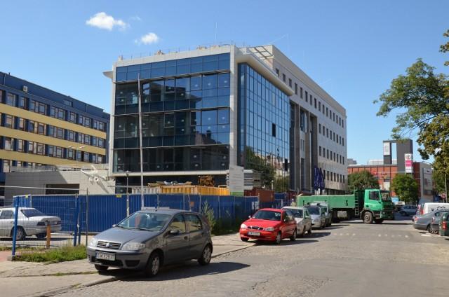 Budowa Geo-Info-Hydro Uniwersytetu Przyrodniczego przy ul. Grunwaldzkiej